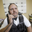 Security Guard At Work — Stock Photo
