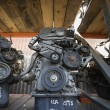 Car Engines In Junkyard — Stock Photo #21959941