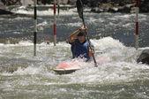 Whitewater Kayaking — Stock Photo