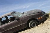 Opuštěné auto — Stock fotografie