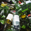 Bottles In A Recycling Plant — Stock Photo
