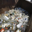 Bottles In Bin — Stock Photo
