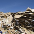 Heap Of Thrown Cardboard Boxes — Stock Photo