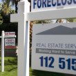 Stock Photo: Foreclosure Sign