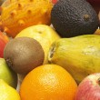 Organic Fruits — Stockfoto