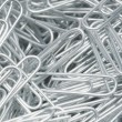 Steel Paperclips — Stockfoto
