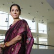 Business WomIn Sari — Stock Photo #21965361