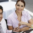 Business Holding Pen In A Restaurant — Stock Photo #21969825