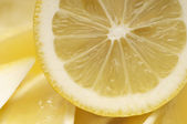 Cross Section Of Lemon — Stock Photo