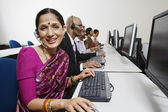 Customer Service Operators Working Together In Office — Stock Photo