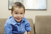 Little Boy Smiling — Stock Photo