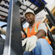 Forklift Driver — Stock Photo #21970243