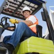 Forklift Driver — Stock Photo #21970267