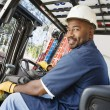 Forklift Driver — Stock Photo #21970283