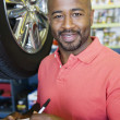 Stock Photo: Auto Mechanic