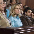 Jurors During Trial — Foto de Stock