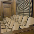 Juries Seating In Court — Stock fotografie #21972223
