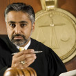 AsiJudge In Courtroom — Stock Photo #21972855