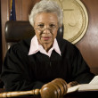 Judge Sitting With Book — Stock Photo #21972931