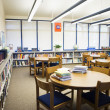 High School Library Reading Room — Stock Photo #21973363