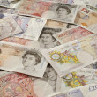 Stock Photo: British Paper Currency