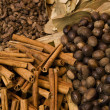 Variety Of Spices Displayed For Sale — Stock Photo #21977267