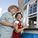 Senior Couple On Vacation — Stock Photo #21978081