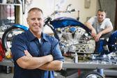 Motorcycle Shop — Stock Photo