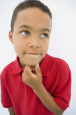 Boy Thinking — Stock Photo