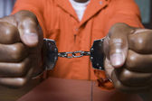 Handcuffed Criminal — Stock Photo
