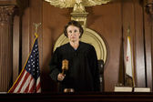 Judge Forming A Judgment — Stock Photo