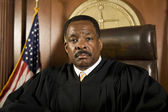 Judge .In Courtroom — Stock Photo