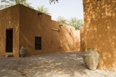 Courtyard Of Al Ain Museum — Stock Photo