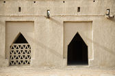 Detail Of Al Jahli Fort — Stock Photo