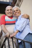 Happy Senior Couple — Stock Photo