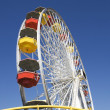 Ferris Wheel Against Blue Sky — Stock Photo #22150755