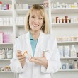 Portrait Of Female Pharmacist — Stock Photo #22151683