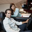 Couple buying a new car — Stock Photo #22153173
