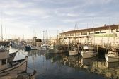 Californian Harbor — Stock Photo
