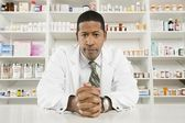 Confident Male Pharmacist — Stockfoto
