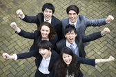 Multi exitoso grupo étnico — Foto de Stock