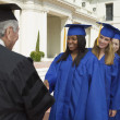 Stock Photo: Graduate Receiving Diploma