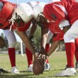 Football Players around ball — Stock Photo