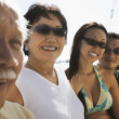 Boating family — Stock Photo