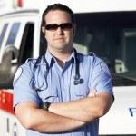 Paramedic worker — Stock Photo