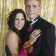 Smiling Couple at Prom — Stock Photo #33798719