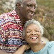Senior couple relaxing  — Stock Photo