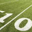 Stock Photo: Ten yard line