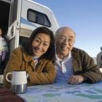 Three-generation asian family — Stock Photo #33799981