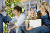 Students Hanging Out — Stock Photo